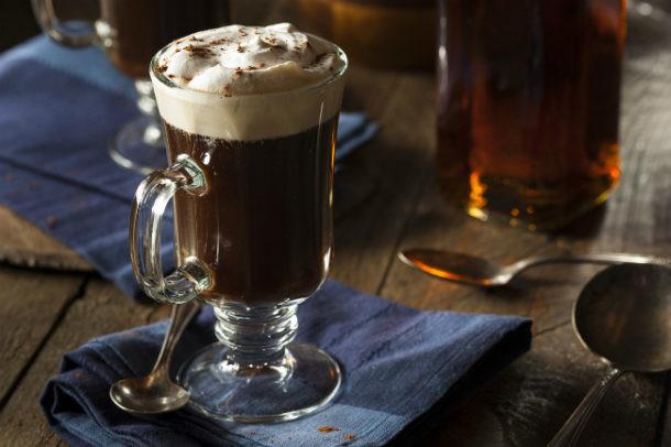 El origen del café irlandés