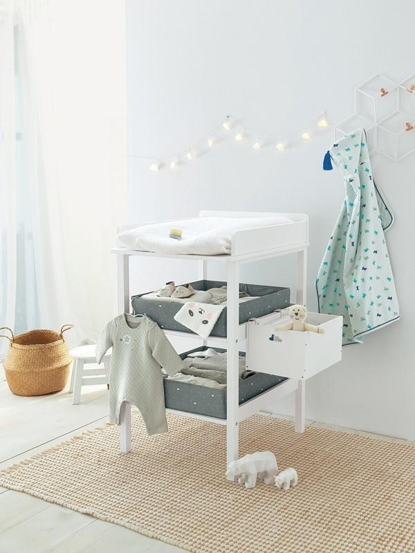 El cambiador del bebé: cómo organizarlo para tener todo a mano - Mi ...