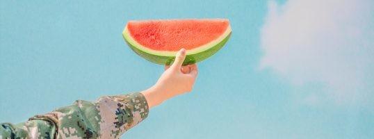 sandía verano