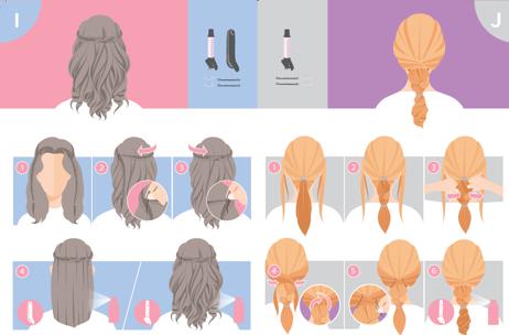 recogido peinado