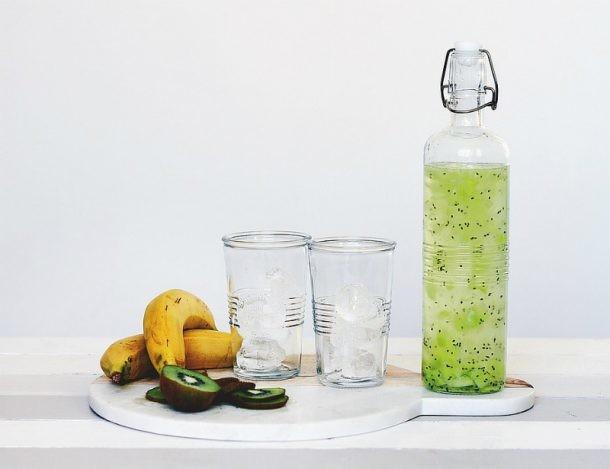 Botella de zumo