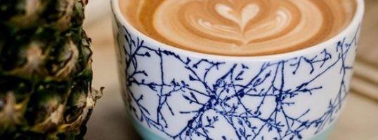 Café con leche en boles. Coffe bowl