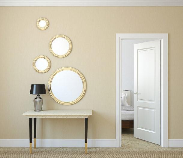 Decorar con espejos diferentes
