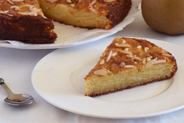 Pasos de la tarta de manzana