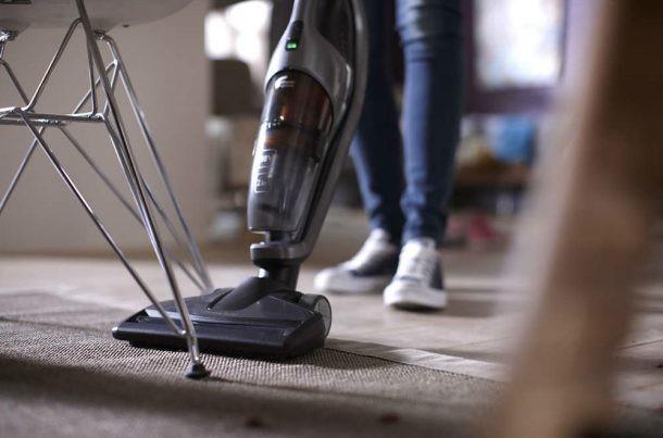 aspirador escoba para alfombras