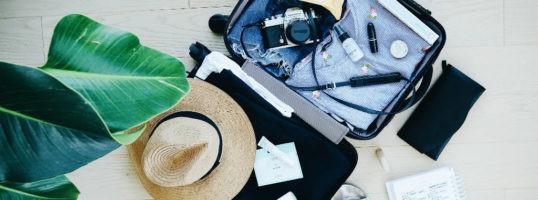aspirador y trucos para hacer la maleta