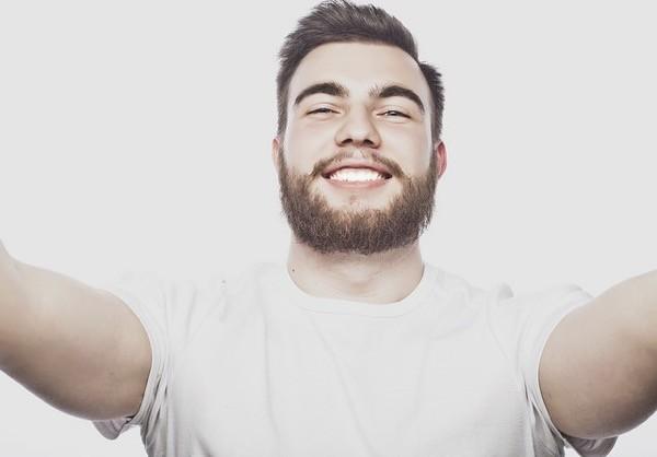 linea de cuello barba