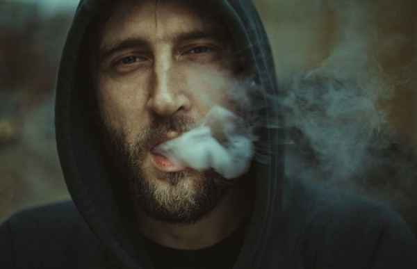 fumador humo