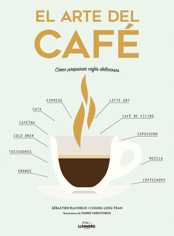 Libros sobre café. El arte del café