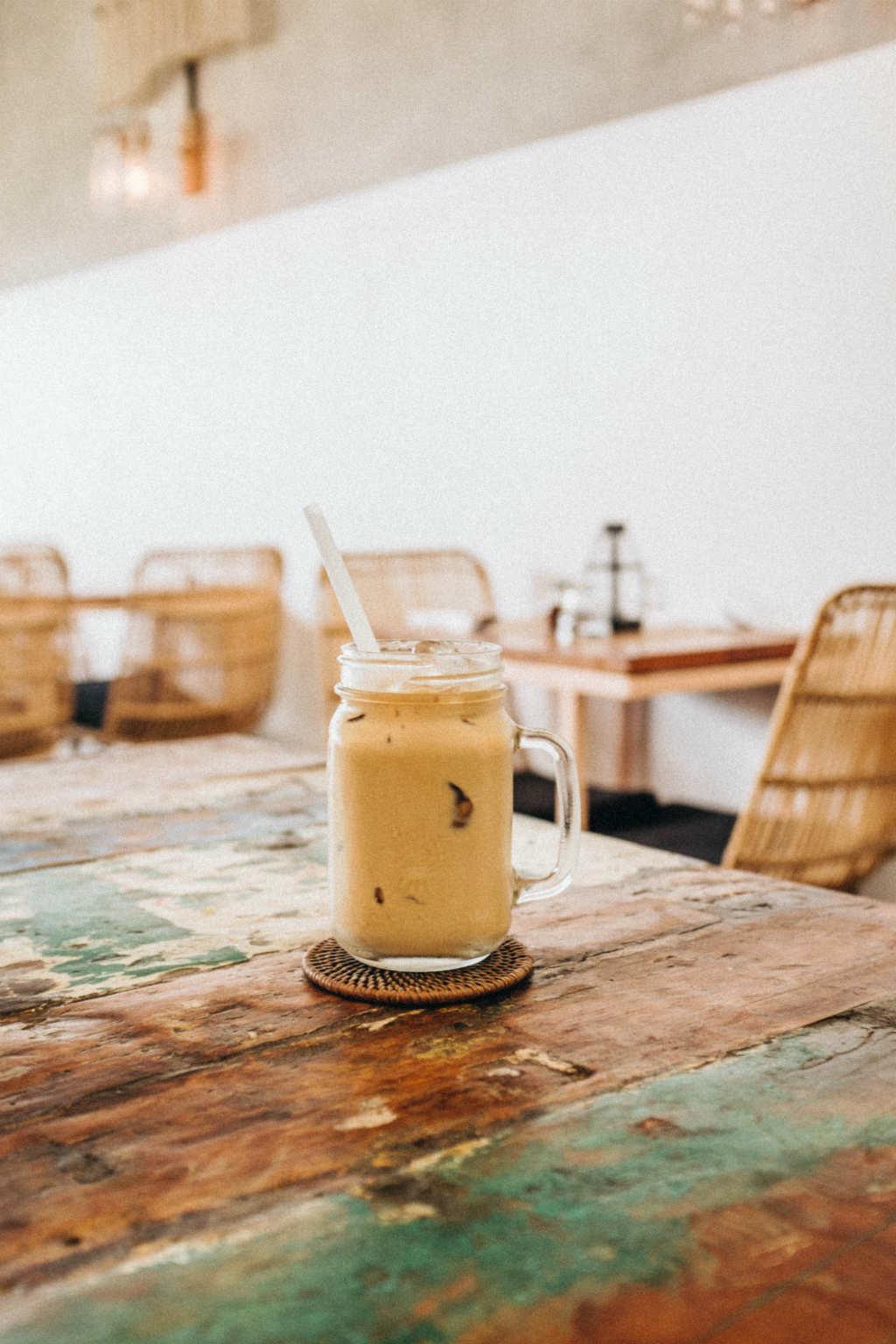 batidos de cafe frios