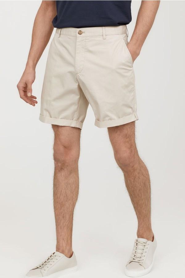 chinos cortos hm