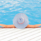 estilo en la piscina