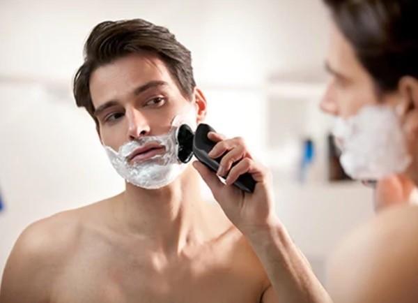 afeitado humedo