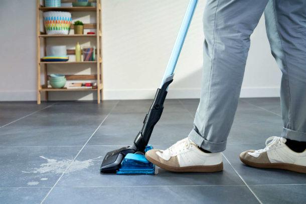 suelo limpio sin bacterias