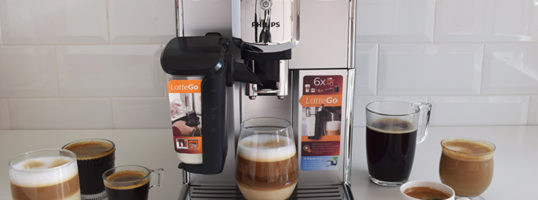 Cafetera Philips Latte Go!