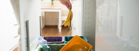 Como organizar tu rincón de reciclaje en la cocina