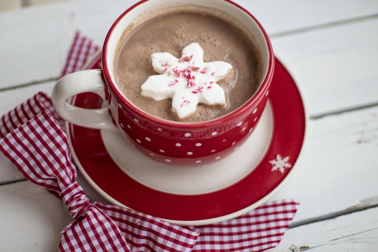 café en Navidad