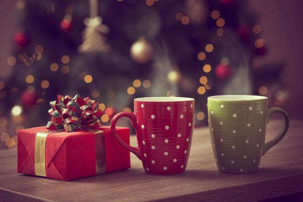 navidad cafetera