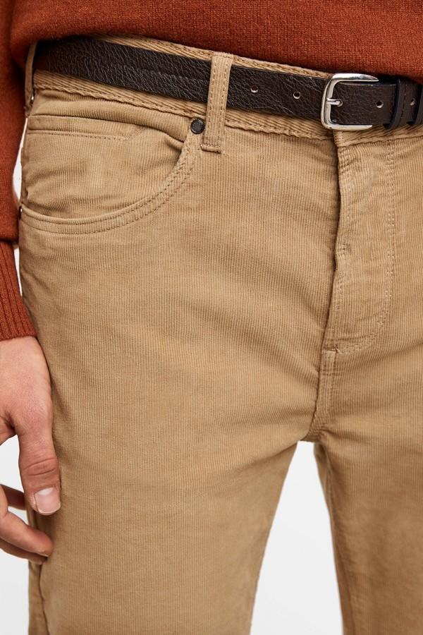 pantalon pana zara