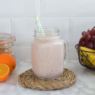 receta batido platano uva