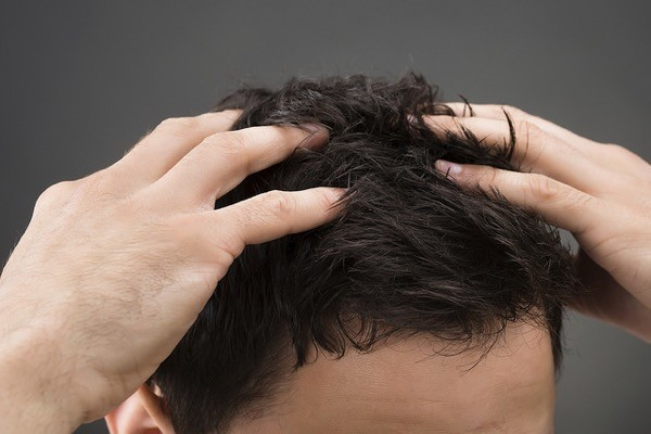 cabello hombre