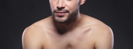 hombre depilado