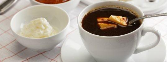 Kaffeost o café con queso