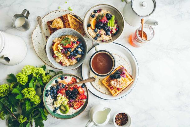 Desayunar con calma