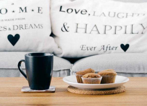 merendar con cafe