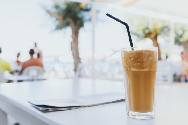 cafes de europa, cafe frappe