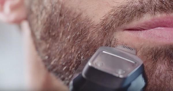 afeitado inferior labio