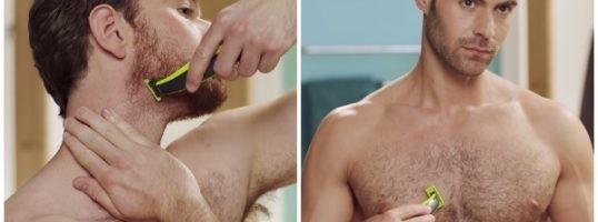 afeitar cara y cuerpo