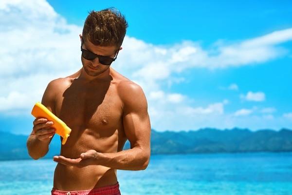 bronceado playa