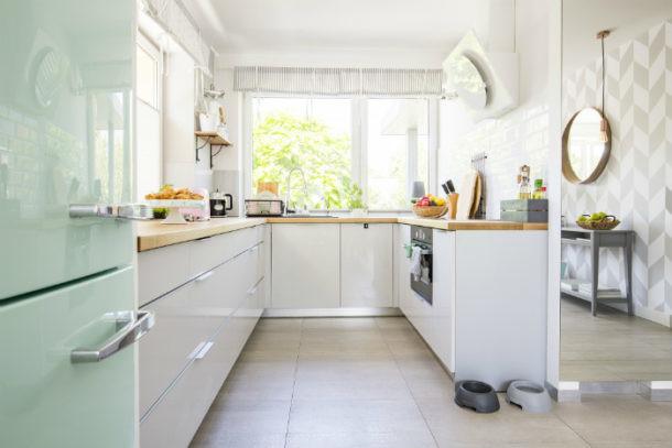 limpieza en la cocina