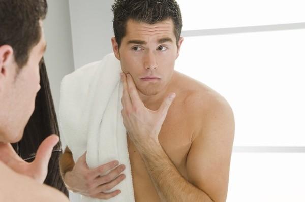 secado cara toalla