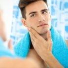 afeitado apurado