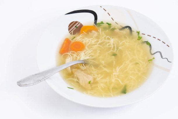 Sopa con pasta