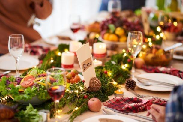 Preparar mesa de Fiesta