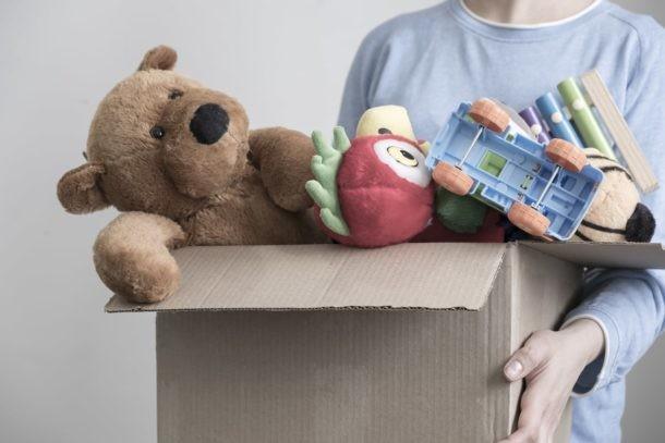 Marie Kondo donar juguetes