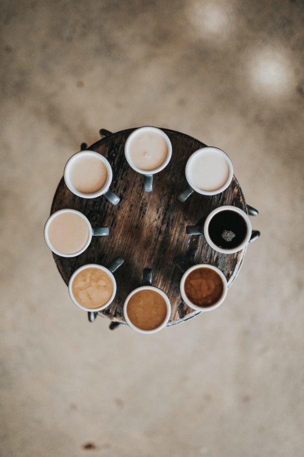 barra de café