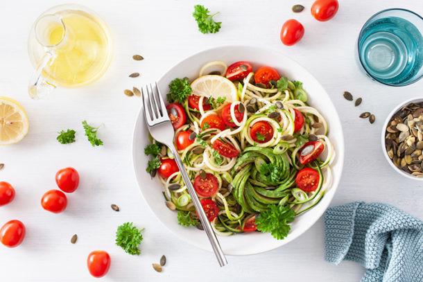 menu navidad vegano vegetariano