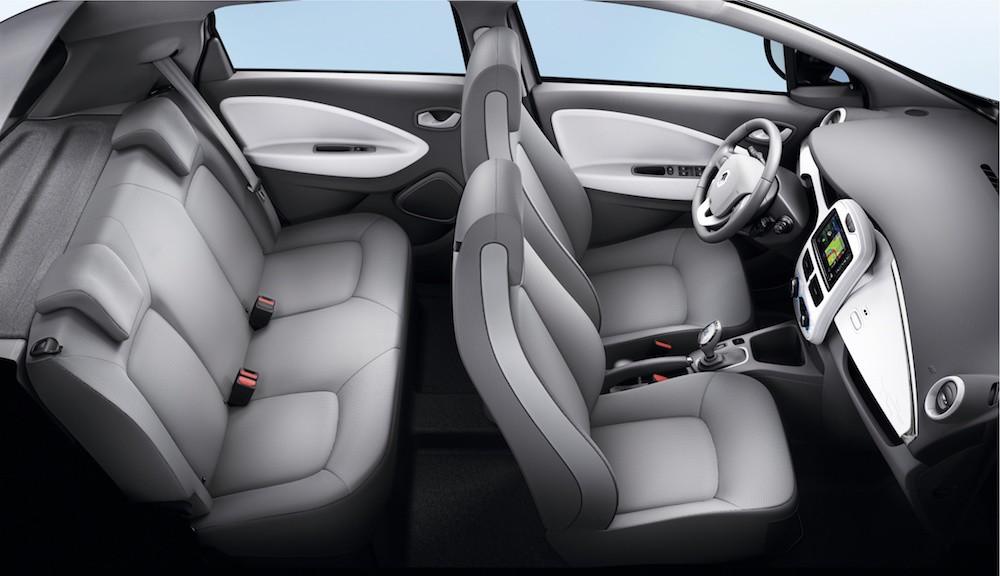 Anatomía del Renault ZOE: así de cómodo es un coche eléctrico ...