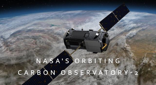 Observatorio de Carbono en Órbita. Cortesía de NASA / JPL-Caltech