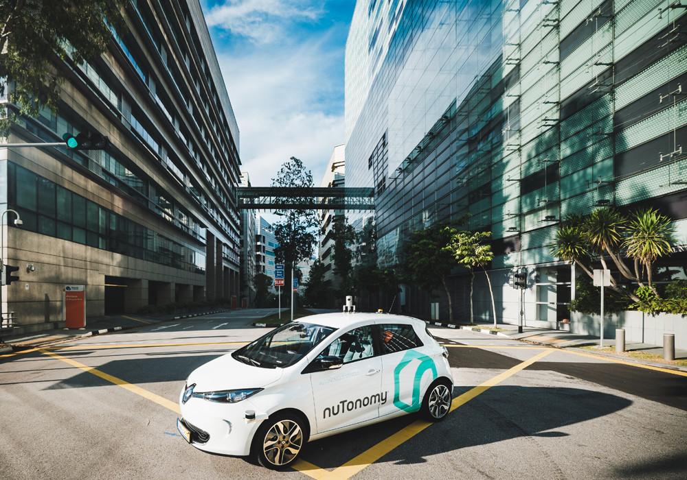 Renault Zoe taxi autónomo eléctrico
