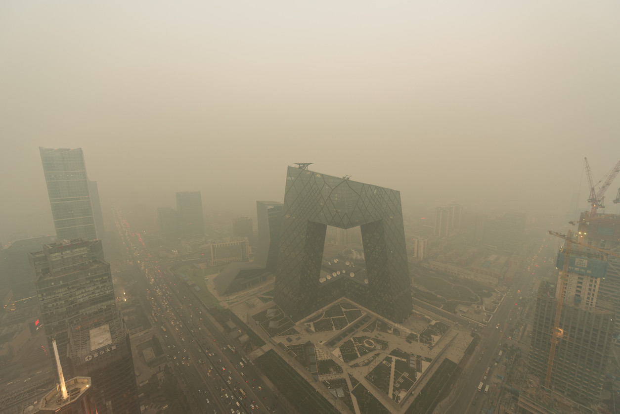 City under siege-Beijing air pollution