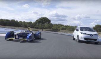 ¿En qué se parecen un Renault ZOE y un Fórmula E? Este vídeo nos los muestra