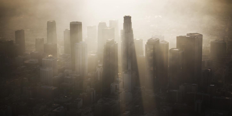los ángeles contaminación