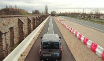 Renault prueba la recarga dinámica inalámbrica por inducción