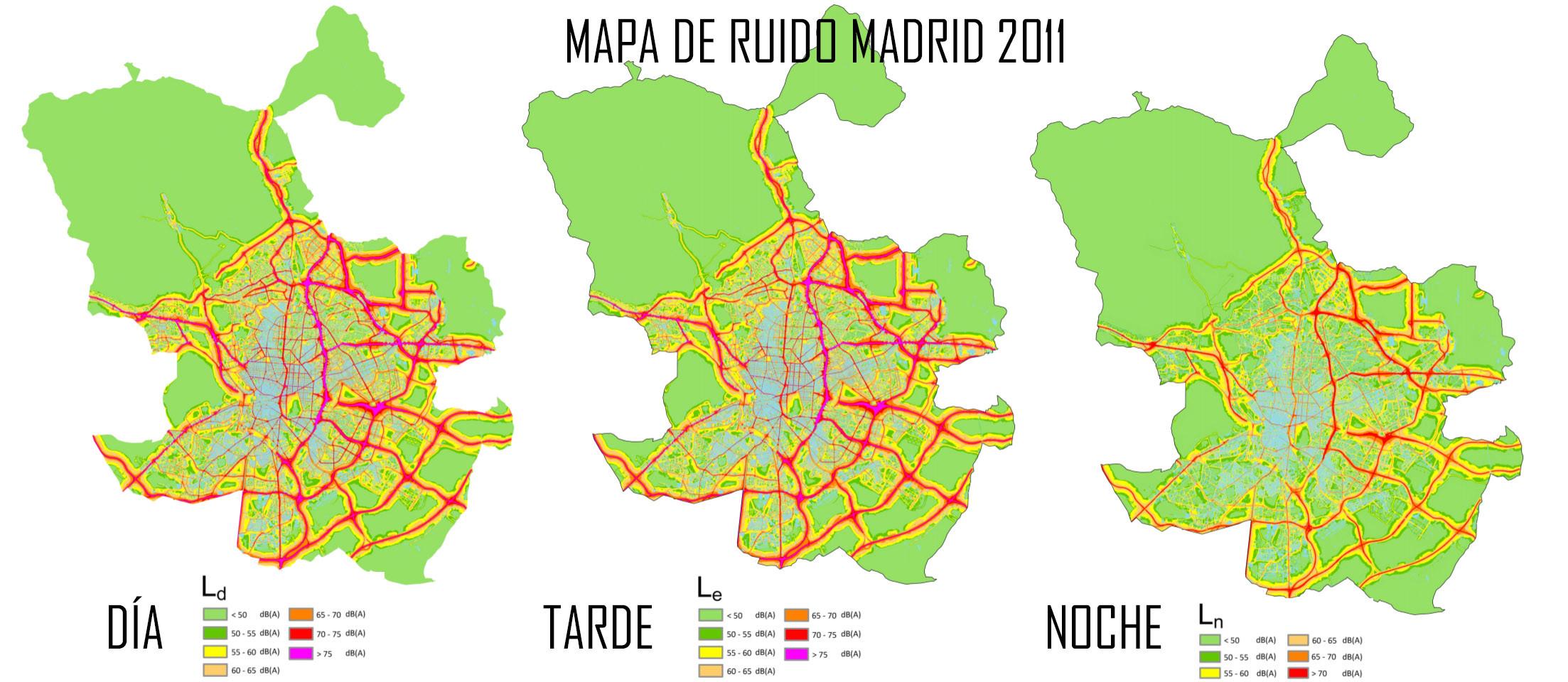 mapa ruido madrid