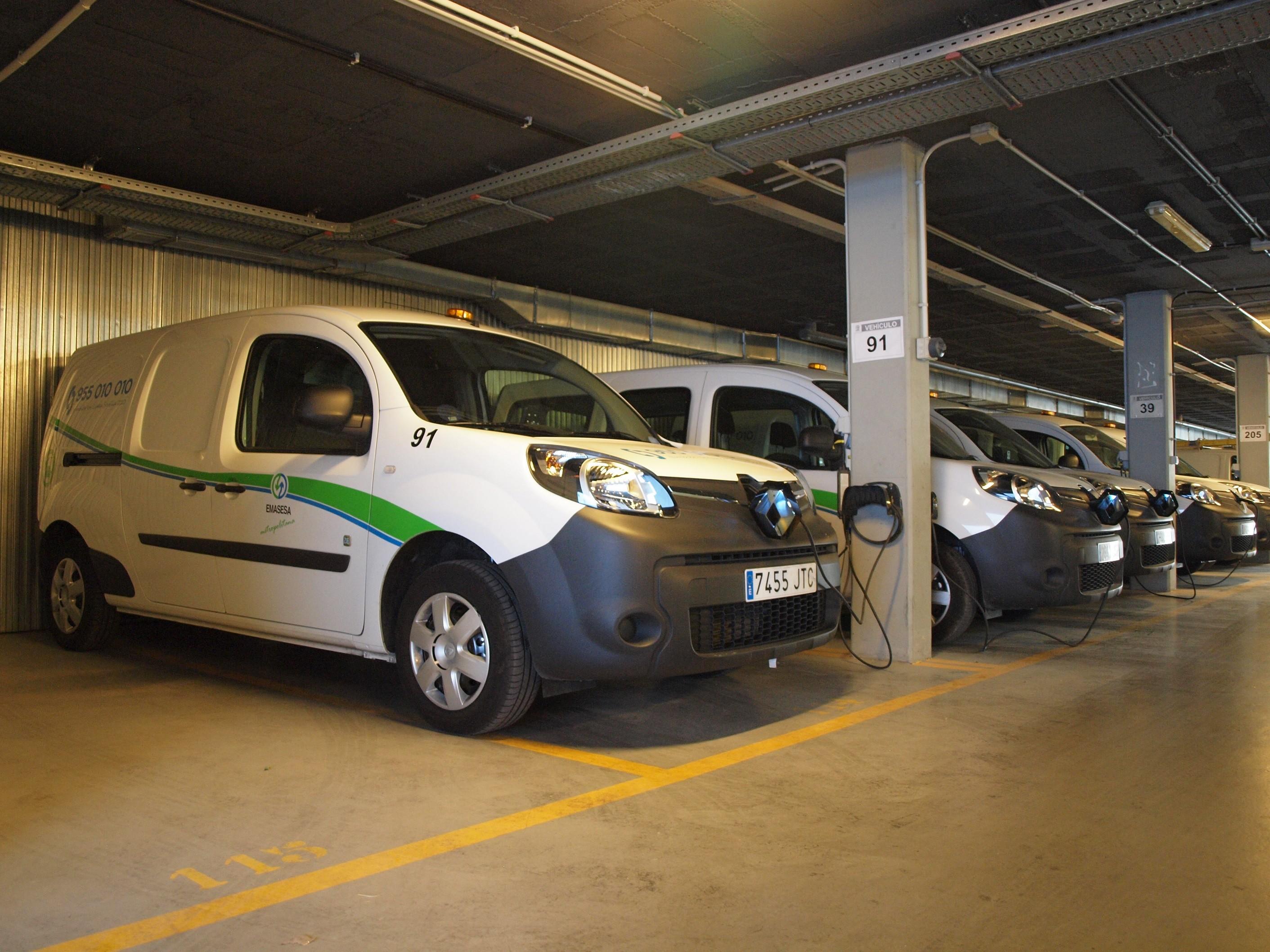 Flota de vehículos eléctricos Renault